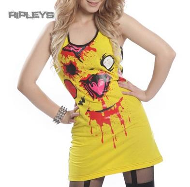 Evil Clothing Cupcake Cult Ladies T Shirt CHU CHU Vest Pika Zombie All Sizes