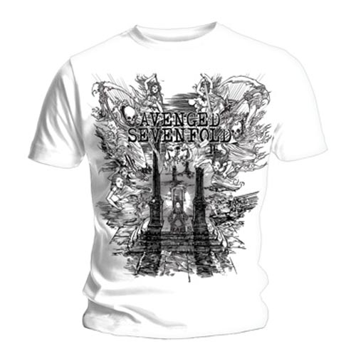 Official-T-Shirt-AVENGED-SEVENFOLD-Hail-to-the-King-LAND-OF-CAIN-All-Sizes