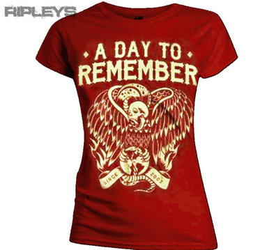 Official Ladies T Shirt A DAY TO REMEMBER Vulture All Sizes