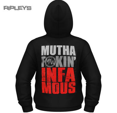 Official MOTIONLESS IN WHITE Hoody Hoodie INFAMOUS Black All Sizes