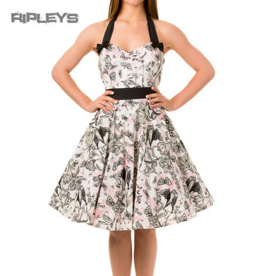 BANNED Vintage 50s Dress SOULMATE Butterfly Floral Pin Up All Sizes