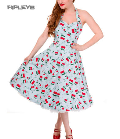 BANNED Rockabilly 50s Dress BLINDSIDE Cherry Blossom Pin Up All Sizes