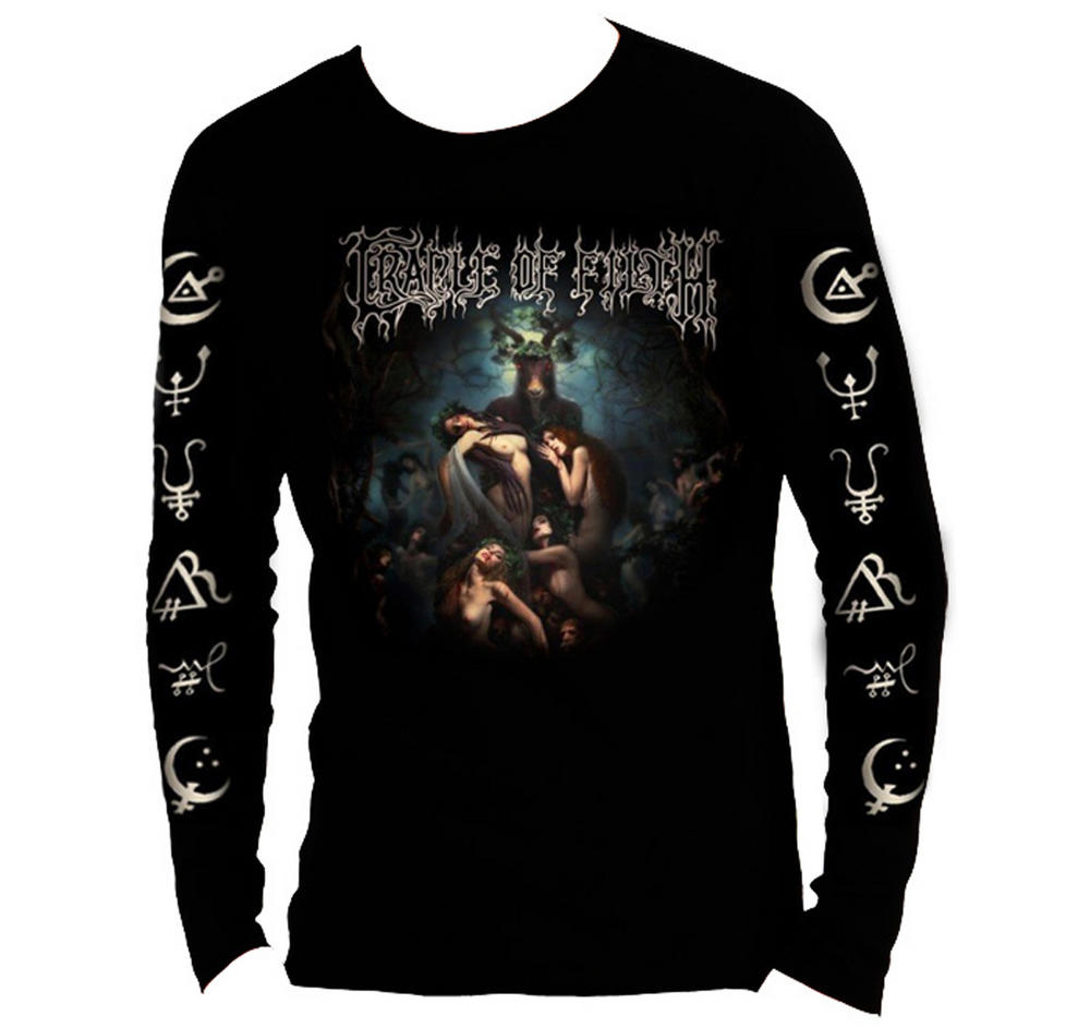 official t shirt cradle of filth hammer of the witches l. Black Bedroom Furniture Sets. Home Design Ideas
