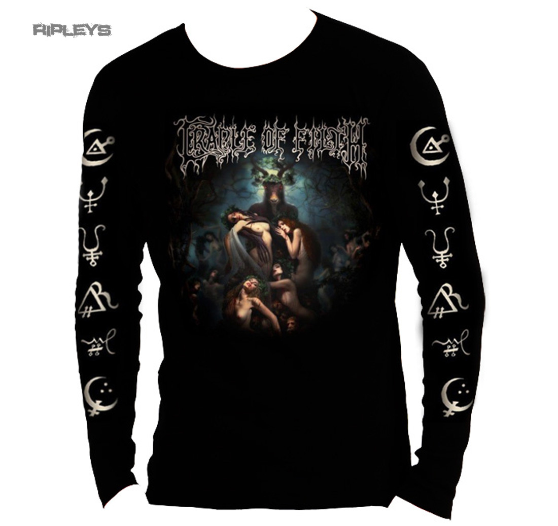 official t shirt cradle of filth hammer of the witches l sleeve all sizes ebay. Black Bedroom Furniture Sets. Home Design Ideas