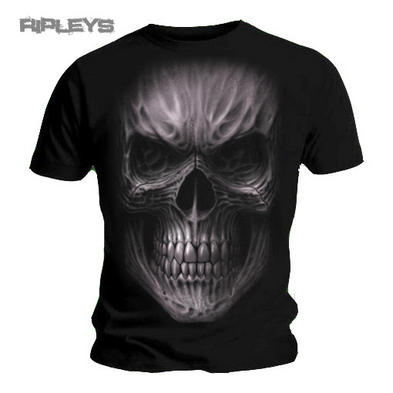 SPIRAL Direct Unisex T Shirt DEATH RAGE Goth Skeleton Skull All Sizes