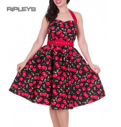 Dolly & Dotty SOPHIE Retro 50s Dress Swing ~ Cherry Rockabilly All Sizes