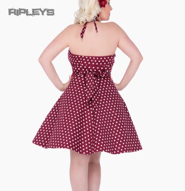 Dolly and Dotty PENNY Retro Dress Swing   Purple Polka Dot All Sizes
