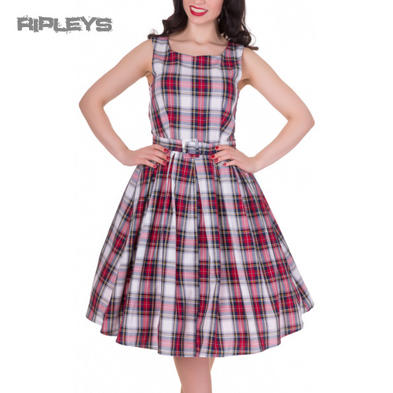 Dolly & Dotty ANNIE Retro 50s Dress Swing ~ Red/White Check All Sizes