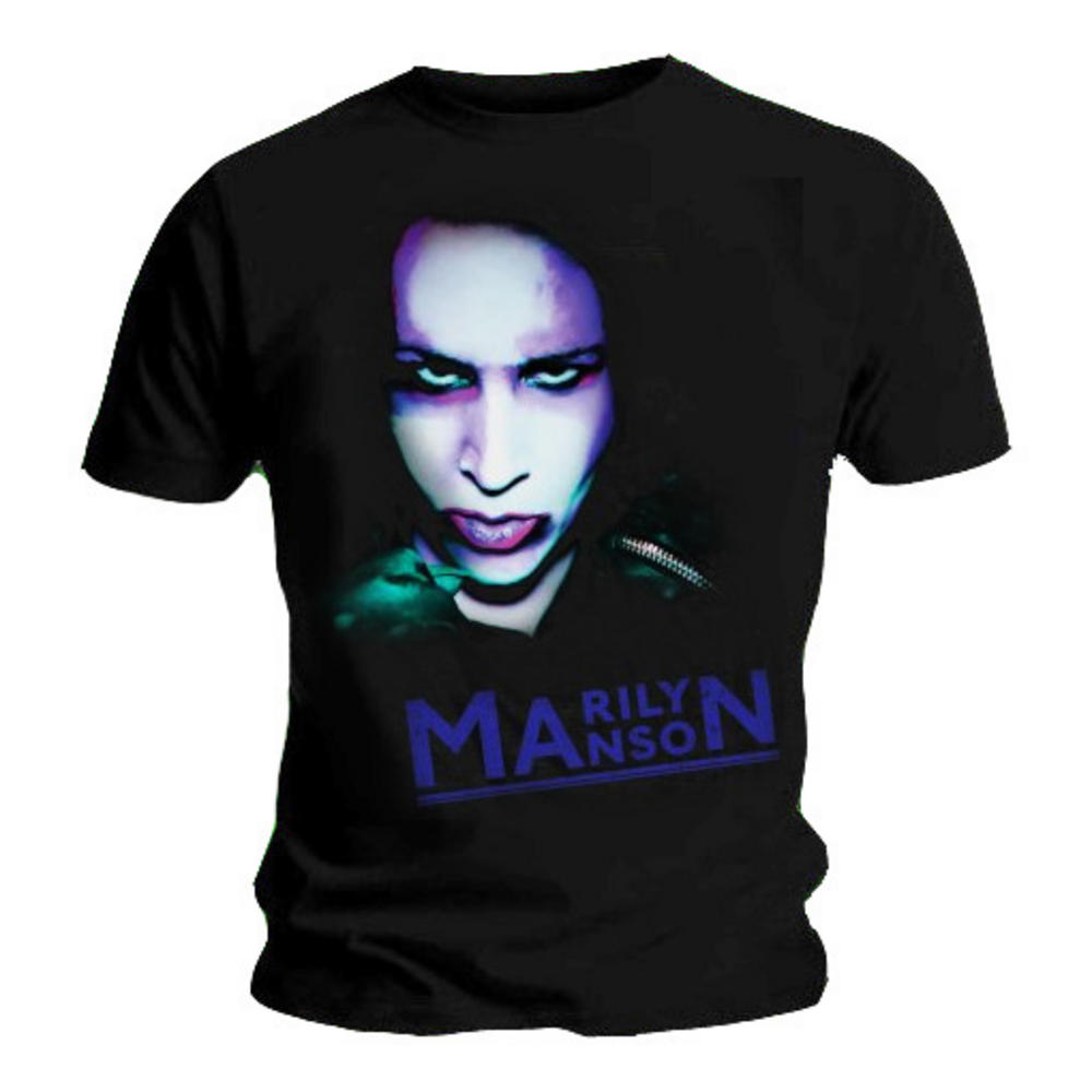 official t shirt marilyn manson oversaturated photo all sizes. Black Bedroom Furniture Sets. Home Design Ideas