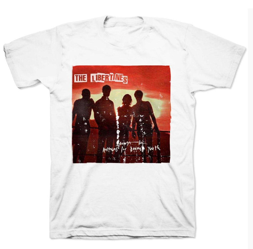 Official T Shirt THE LIBERTINES   Anthems for Doomed Youth All Sizes