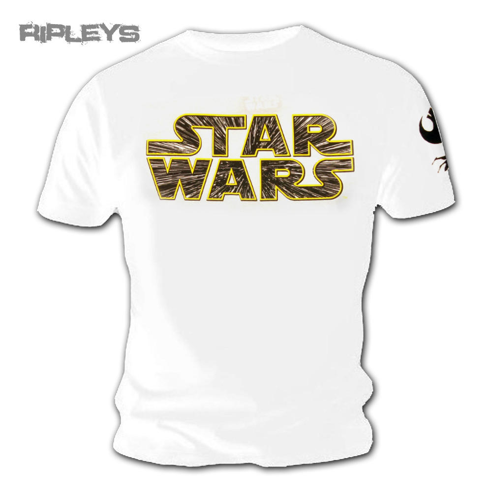 Official T Shirt Star Wars 7 The Force Awakens Hyperspace