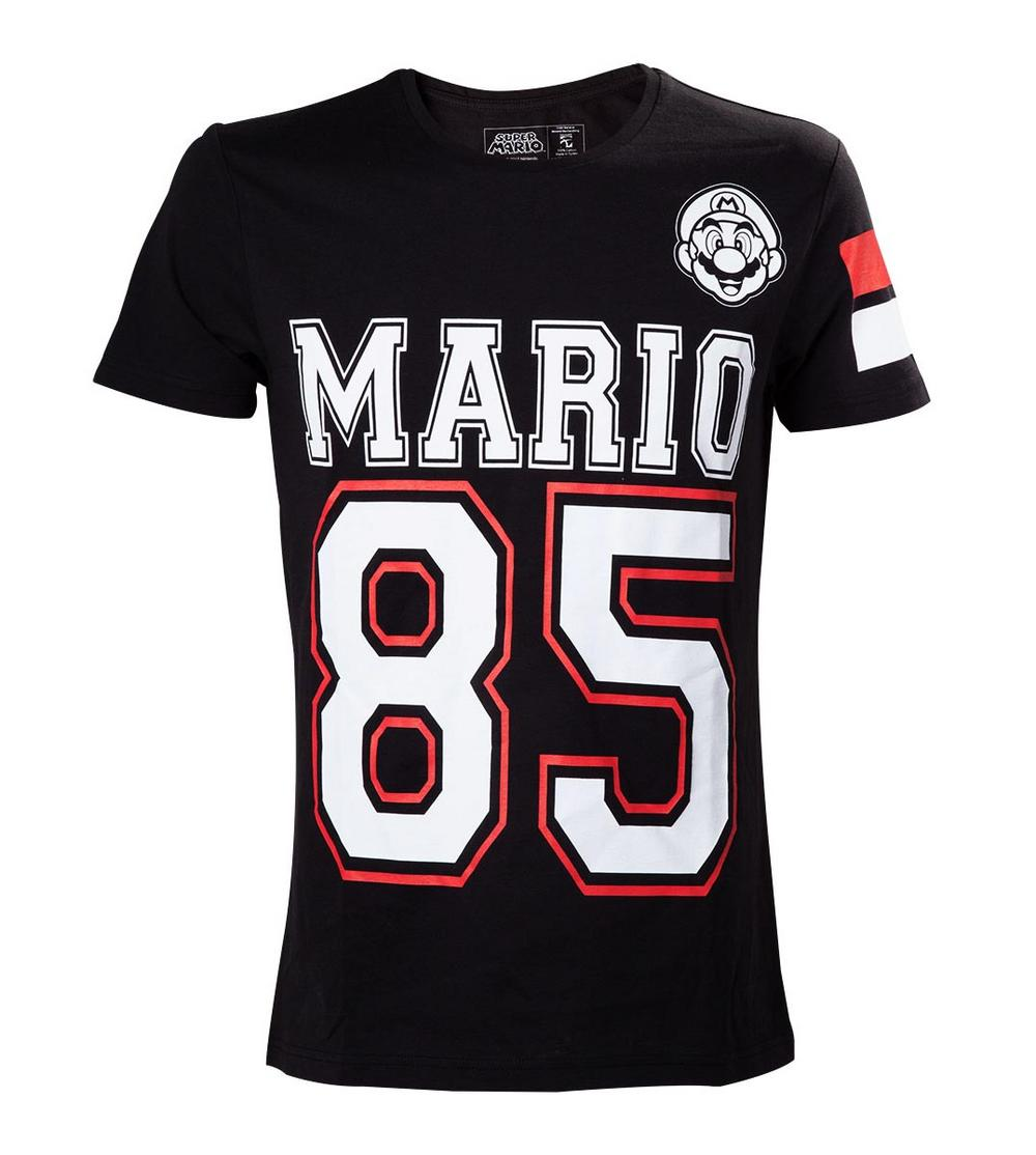 Official t shirt nintendo 64 game super mario 85 for Game t shirts uk