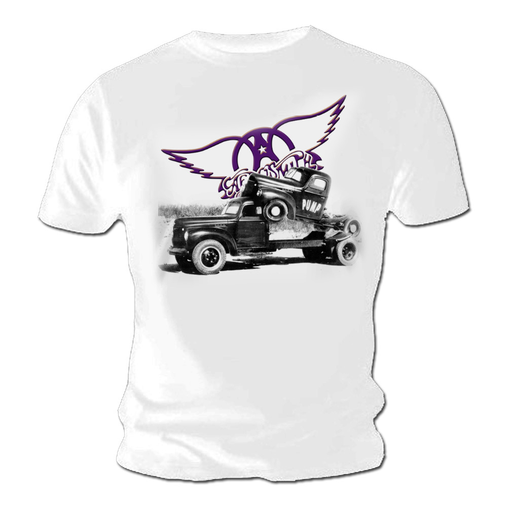 Classic Book Cover Tee Shirts : Official t shirt aerosmith classic pump album cover all sizes