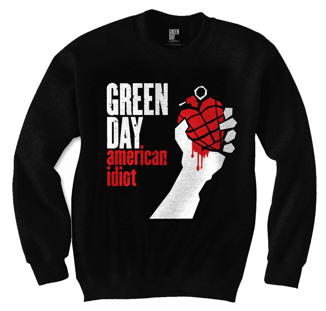 Green day american idiot hoodie