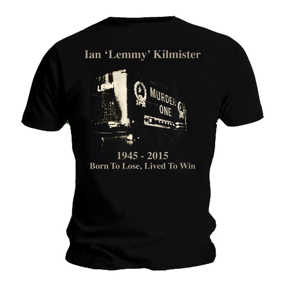 Official t shirt lemmy motorhead hommage a vécu pour gagner toutes les tailles