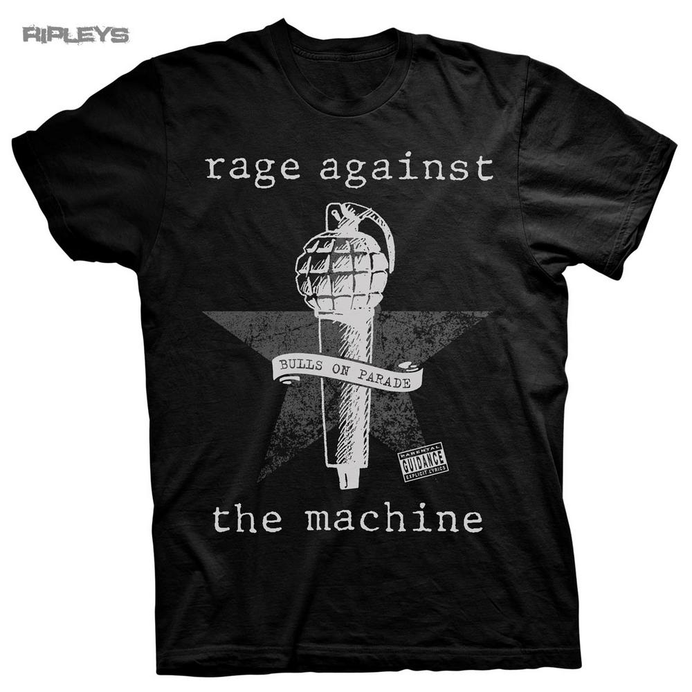 Official T Shirt Rage Against The Machine Bulls On Parade ...
