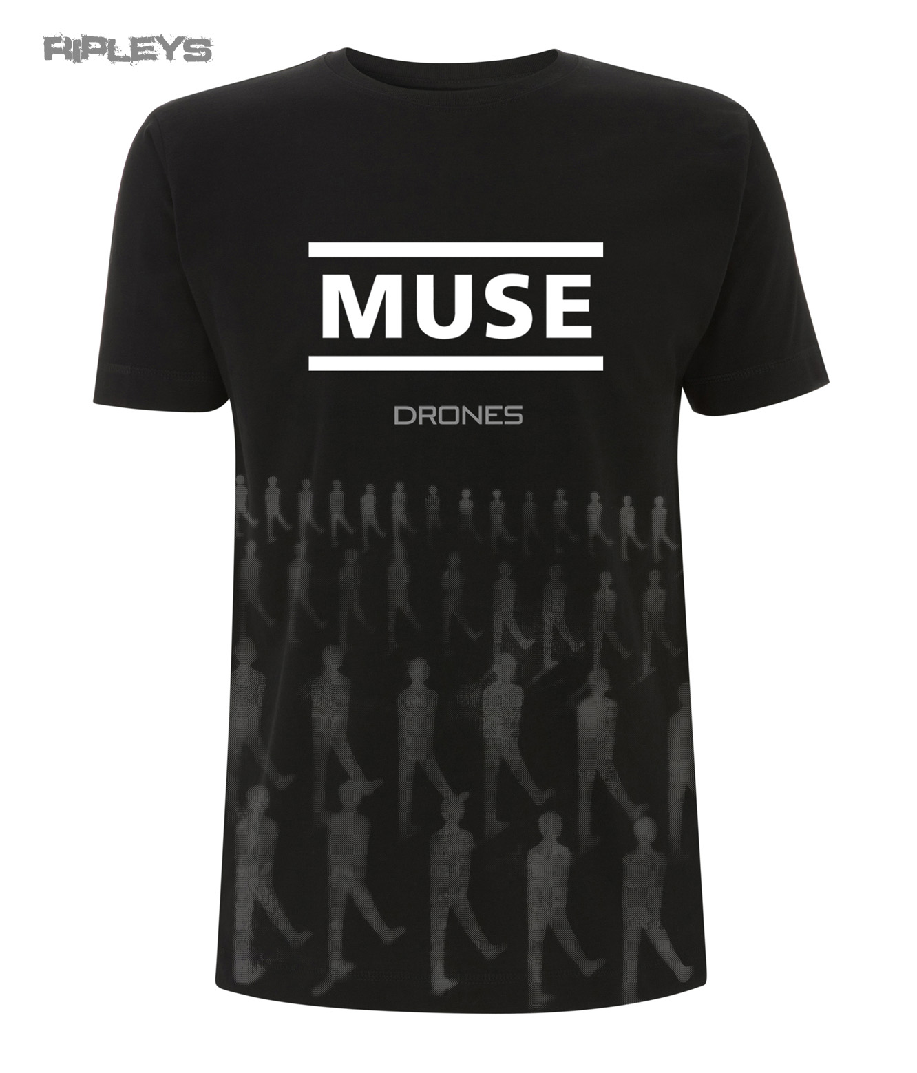 official t shirt muse logo drones album toned drones all. Black Bedroom Furniture Sets. Home Design Ideas