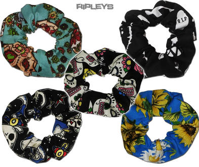 Ripleys Clothing ~ Hair SCRUNCHIE Tie 50s matches Hell Bunny Dress