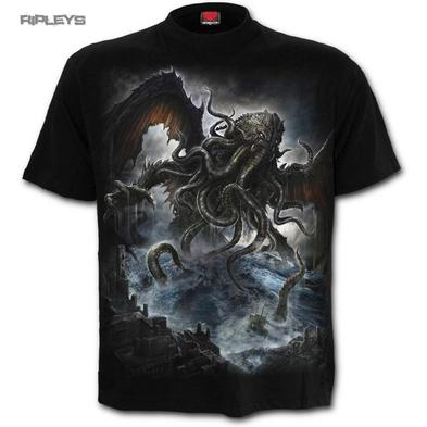 SPIRAL DIRECT T Shirt CTHULHU Mythos Legend Octopus/Dragon All Sizes