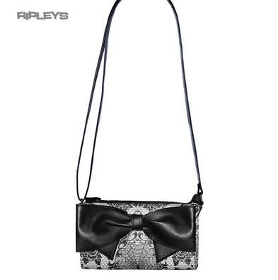 IRON FIST Ladies Goth/Lace/Webs ~ MIDNIGHT WIDOW Clutch Bag