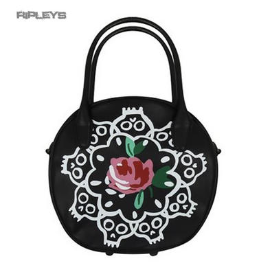 IRON FIST Ladies Pretty/Goth Rose/Skulls ~ Ring Around a Rosy Handbag