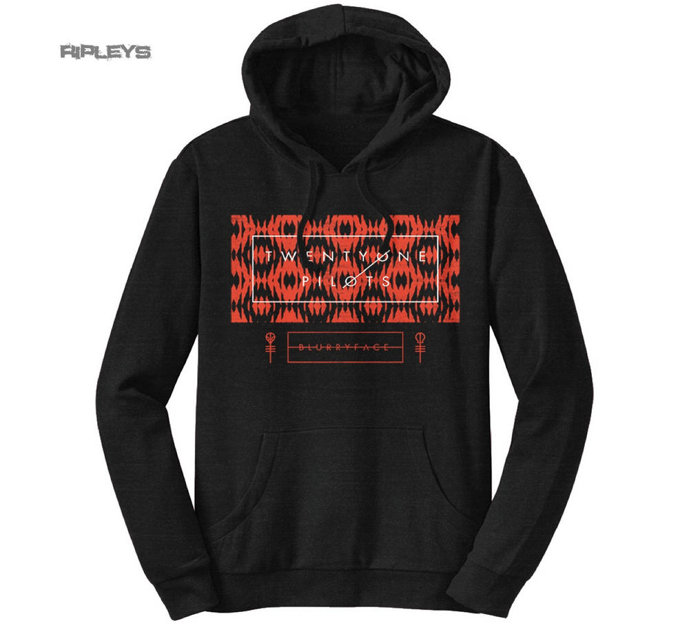 official twenty one pilots hoodie hoody judge stripe box. Black Bedroom Furniture Sets. Home Design Ideas