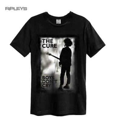 Official Amplified Black Vintage T Shirt THE CURE Boys Don't Cry All Sizes