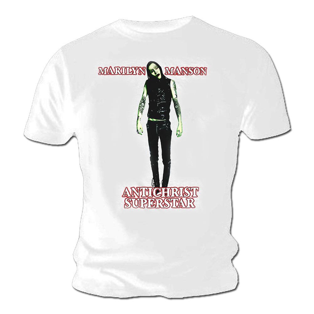 official t shirt marilyn manson goth antichrist superstar. Black Bedroom Furniture Sets. Home Design Ideas