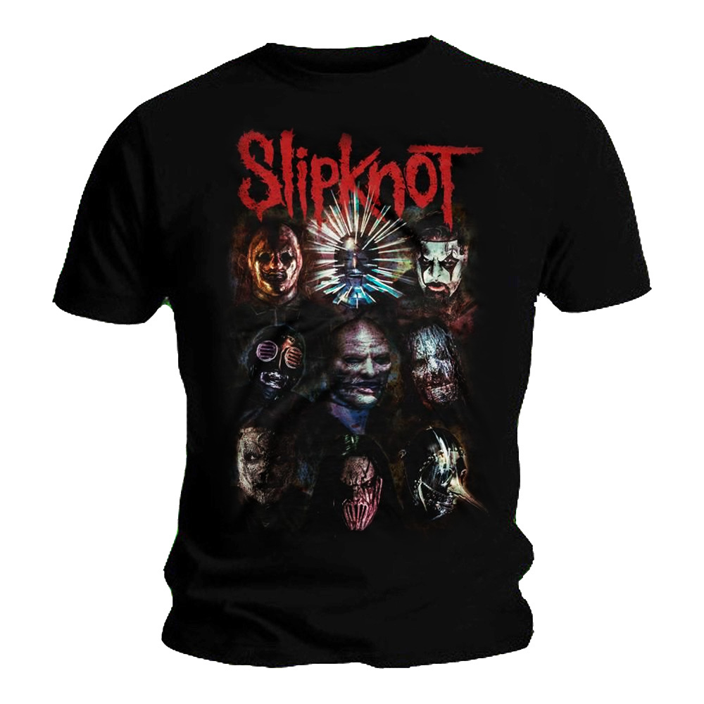 Official T Shirt Slipknot métal préparer HELL TOUR 2014-15 Toutes Tailles
