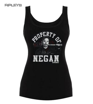 Official Skinny Ladies The Walking Dead PROPERTY Of Negan Vest All Sizes