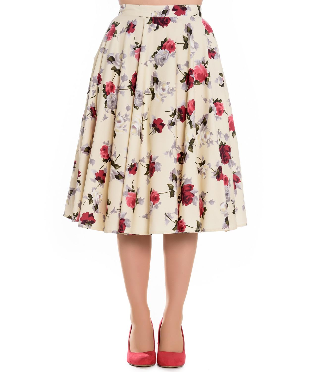 Pin By Cecily Bochannek On Pink: Hell Bunny Floral Vintage Pin Up Rockabilly 50s Skirt