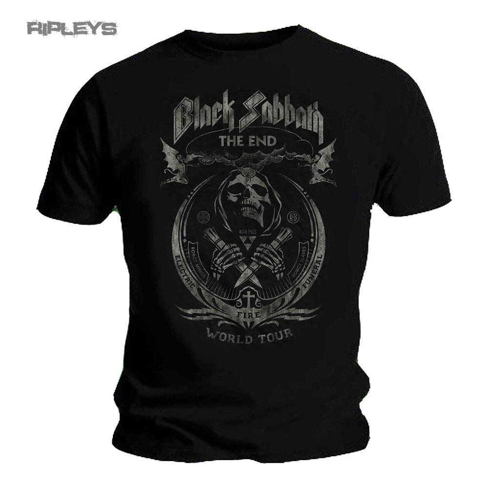 Black sabbath t shirt iron man - Official T Shirt Black Sabbath The End World