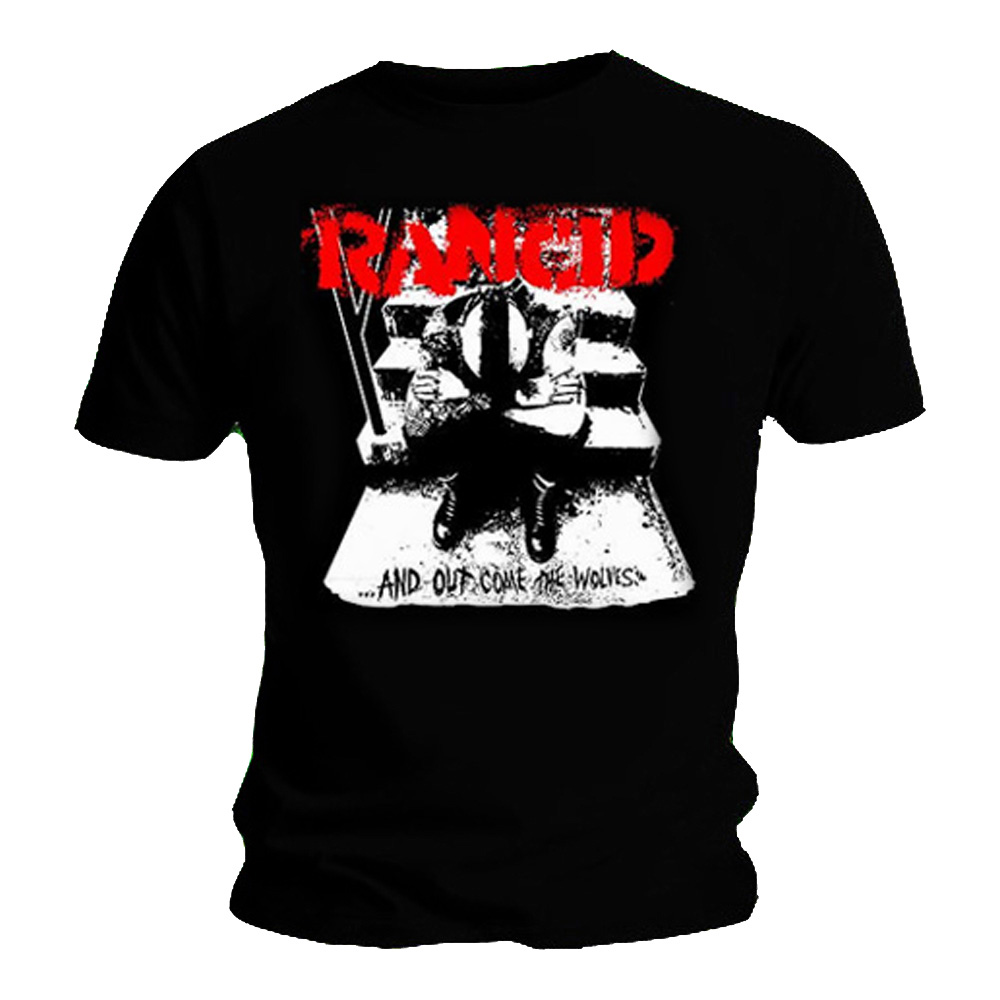 Official T Shirt RANCID Out Come The WOLVES Classic Punk All Sizes