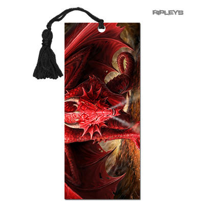 ANNE STOKES 3D Bookmark Gothic Fantasy Fairy Angel 'Dragons Lair' #12