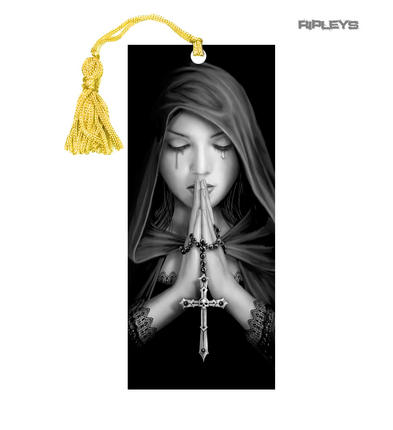 ANNE STOKES 3D Bookmark Gothic Fantasy Fairy Angel 'Gothic Prayer' #16
