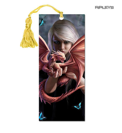 ANNE STOKES 3D Bookmark Gothic Fantasy Fairy Angel 'Dragon Kin' #17