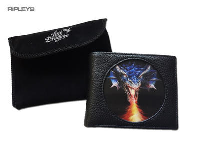 ANNE STOKES 3D Age of Dragons Wallet Black PU Gothic Fantasy 'Firebreather'