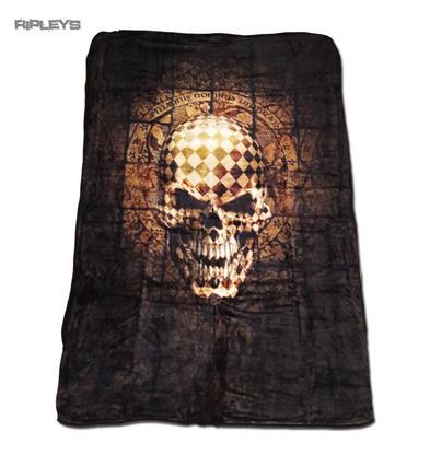 Alchemy Gothic Luxury Thick Fleece Throw Blanket Skull RESURRECTION Single