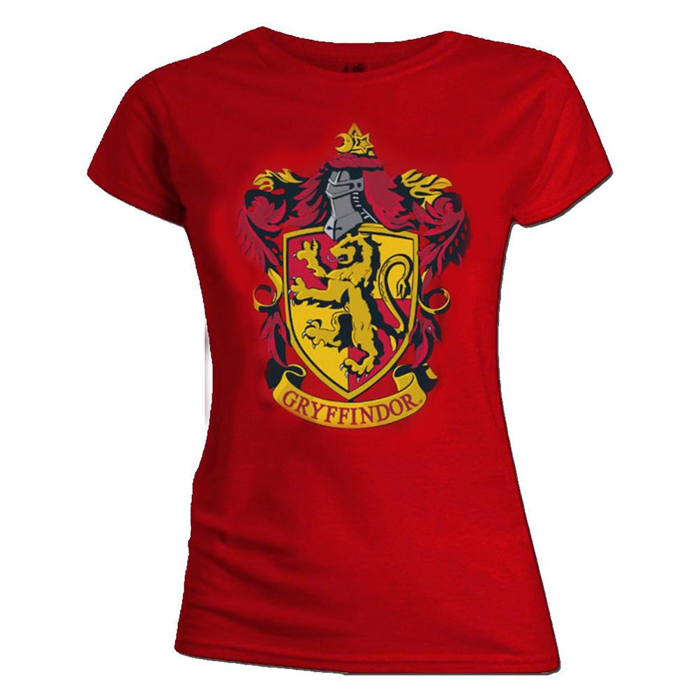 Official Skinny T Shirt Harry Potter Hogwarts GRYFFINDOR ...