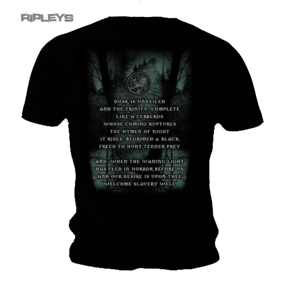 official t shirt cradle of filth metal 39 dusk her embrace 39 album all sizes. Black Bedroom Furniture Sets. Home Design Ideas