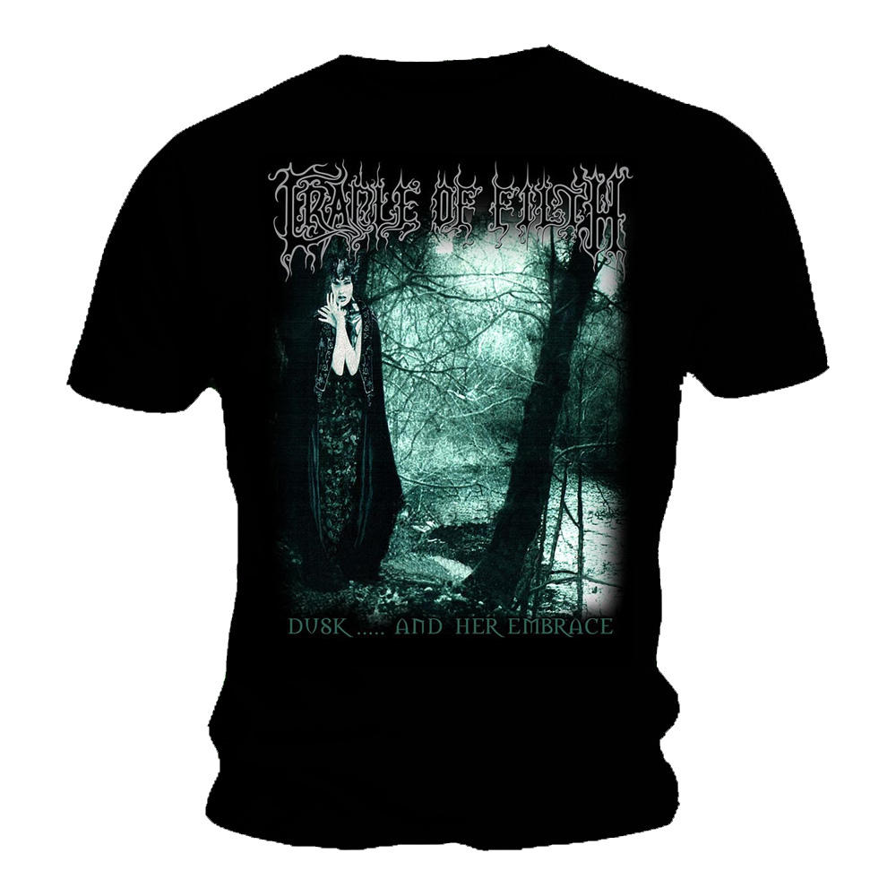 official t shirt cradle of filth metal 39 dusk her embrace. Black Bedroom Furniture Sets. Home Design Ideas