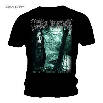 Official T Shirt Cradle of Filth Metal  'Dusk & Her Embrace' Album All Sizes