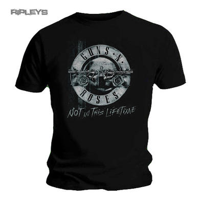 Official T Shirt GUNS N ROSES Not In This LIFETIME TOUR XEROX Bullet All Sizes