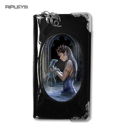 ANNE STOKES 3D Purse Wallet Black PVC Gothic Fantasy Fairy 'Water Dragon'