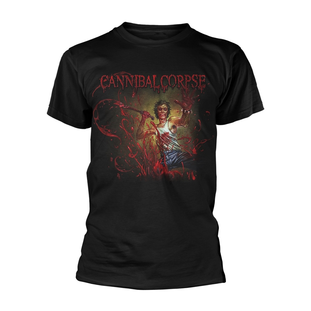 Official T Shirt CANNIBAL CORPSE Metal /'Red Before Black/' Album Cover All Sizes