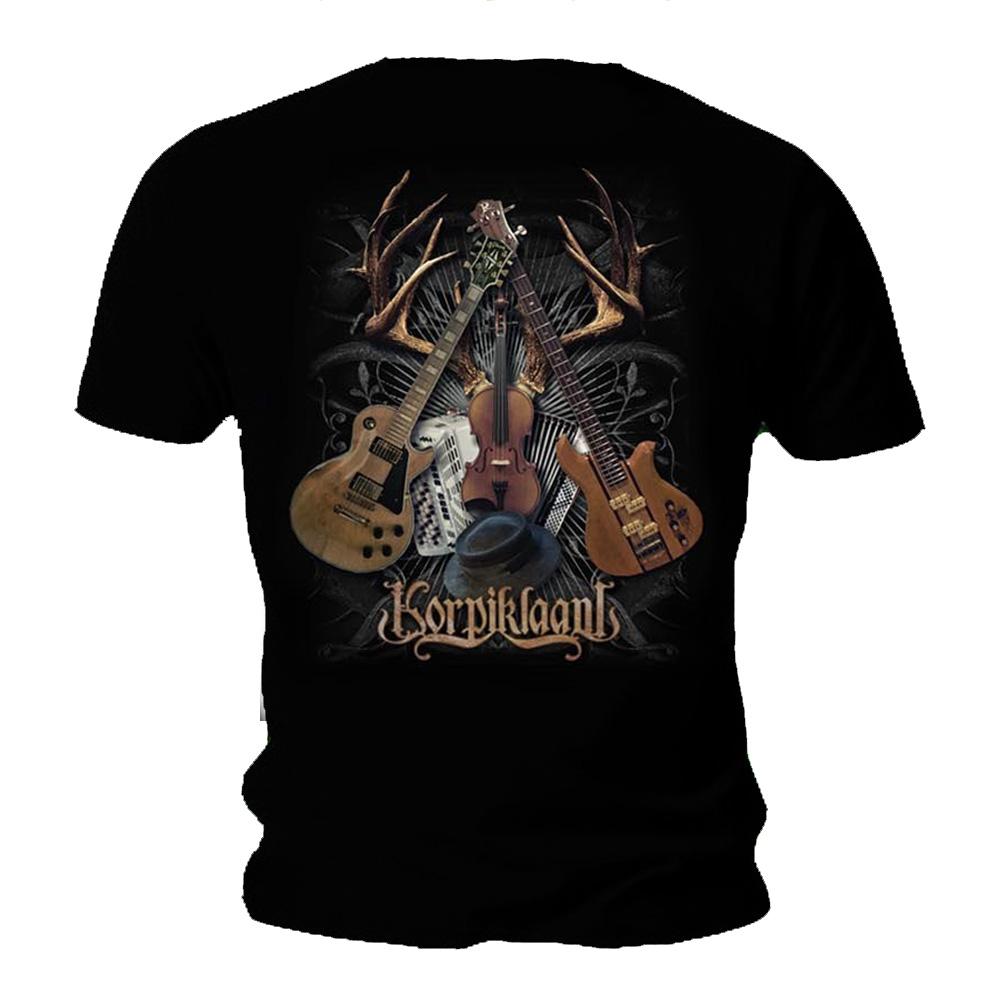 Official T Shirt KORPIKLAANI Shaman Folk Metal Shaman DRUM Logo All Sizes