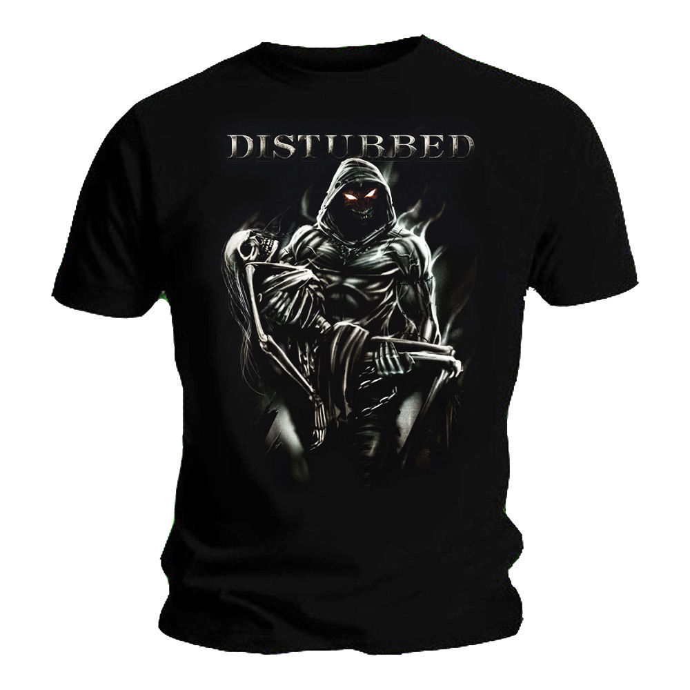 Official T Shirt DISTURBED Immortalized /'Lost Souls/' Skeleton All Sizes