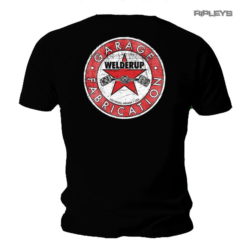 Official WELDERUP Garage Custom Hot Rod Car T Shirt /'Red Star/' Logo Rat Rod