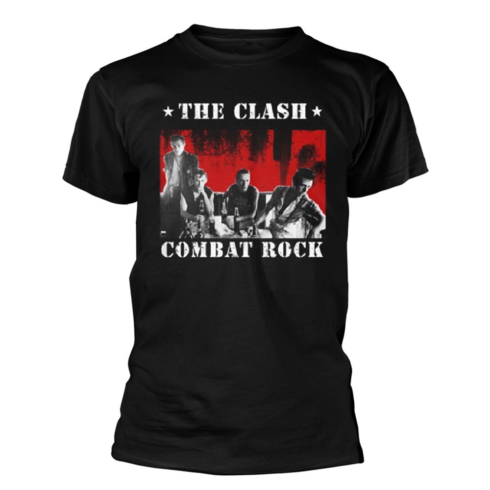 Official T Shirt THE CLASH Punk Vintage /'Bangkok Combat Rock/' All Sizes