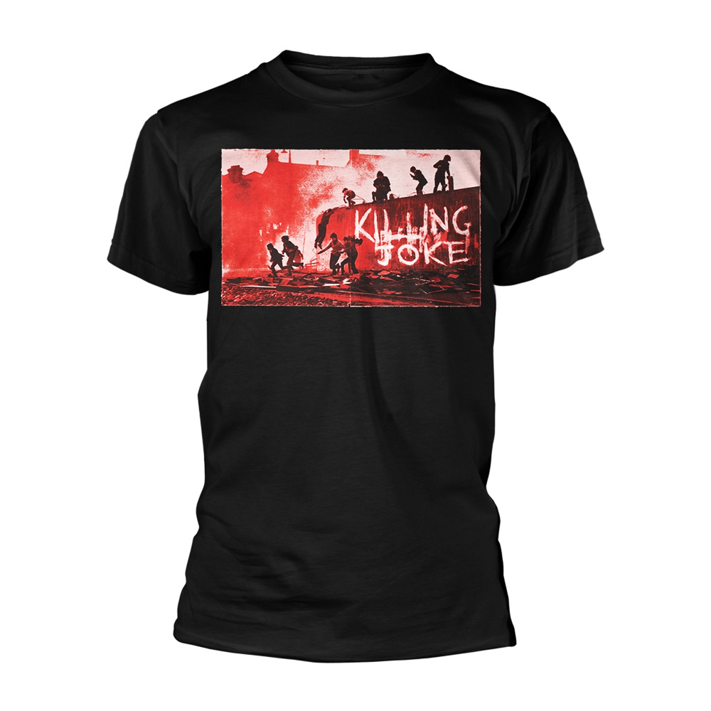 "Official T shirt KILLING JOKE Rock /""FIRST ALBUM/"" Cover 1980 Toutes Tailles"